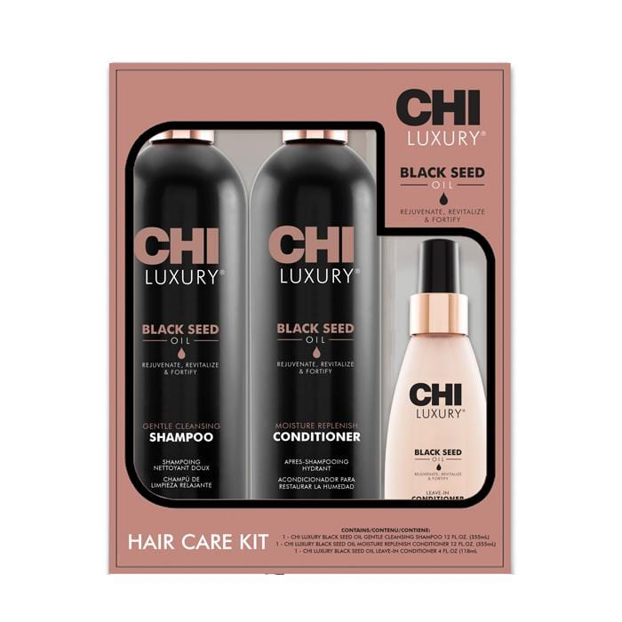 CHI Luxury Black Seed Oil Luminous Locks Holiday Gift Set