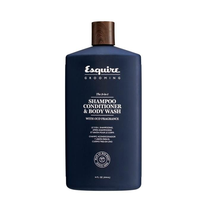 ESQUIRE The 3-in-1 Shampoo, Conditioner & Body Wash