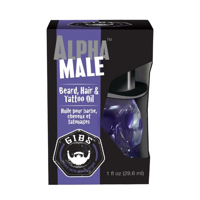 GIBS Alpha Male Beard, Hair & Tattoo Oil