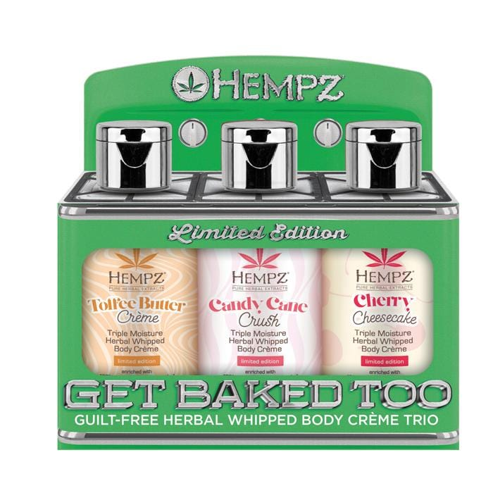 HEMPZ Get Baked Too! Triple Moisture Holiday Trio