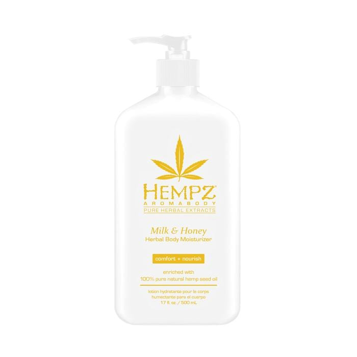 HEMPZ  Milk & Honey Herbal Moisturizer