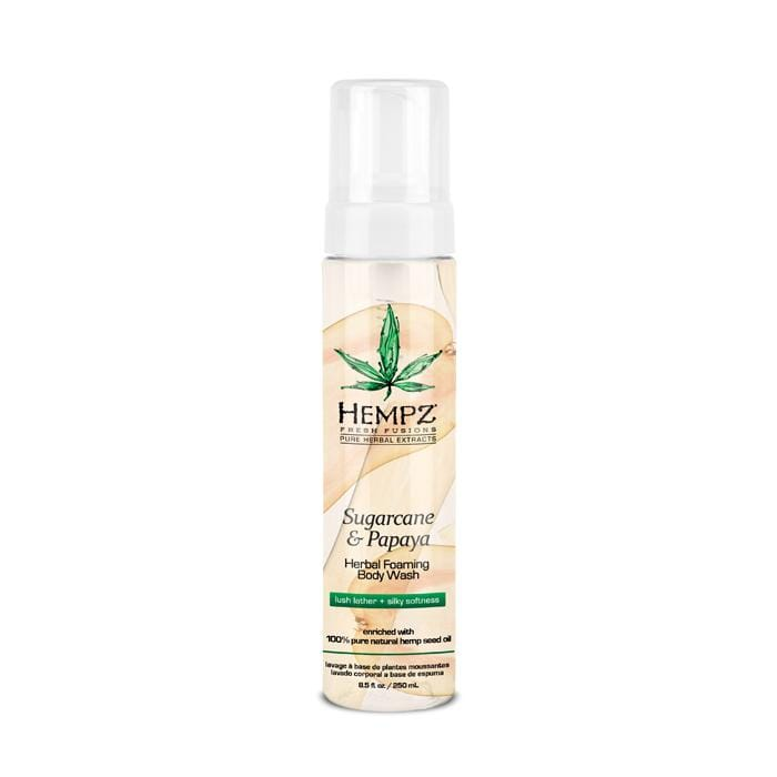 HEMPZ Sugarcane & Papaya Herbal Foaming Body Wash