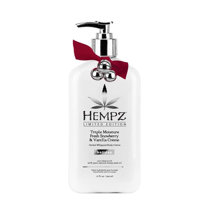 HEMPZ Triple Moisture Fresh Snowberry & Vanilla Cream Whipped Body Creme