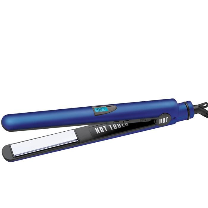 "HOT TOOLS Radiant Blue Digital Salon 1"" Flat Iron"