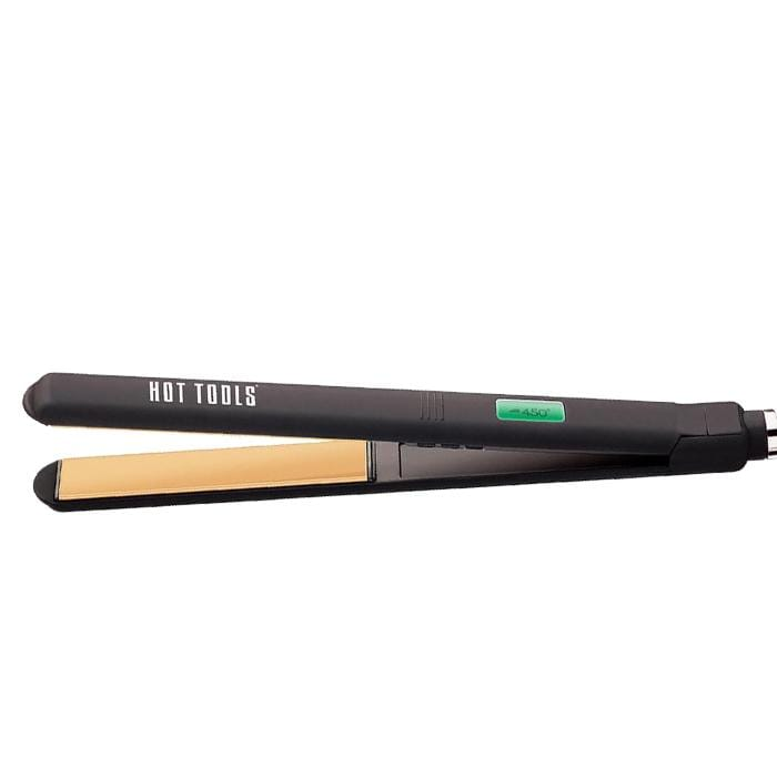 "HOT TOOLS Digital 1"" Salon Flat Iron with Extra Long Plates"