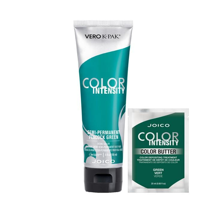 CLEARANCE JOICO K-PAK Color Intensity Peacock Green with Free Color Butter