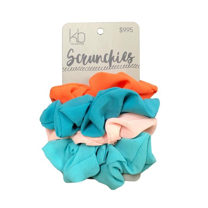 KB Collection Scrunchies Coral