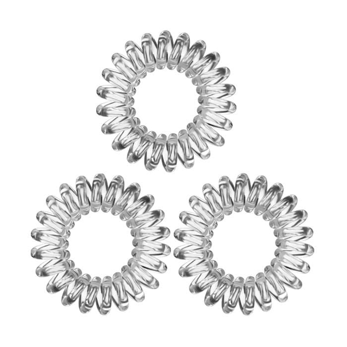 KB Collection Traceless Small Hair Ties Clear