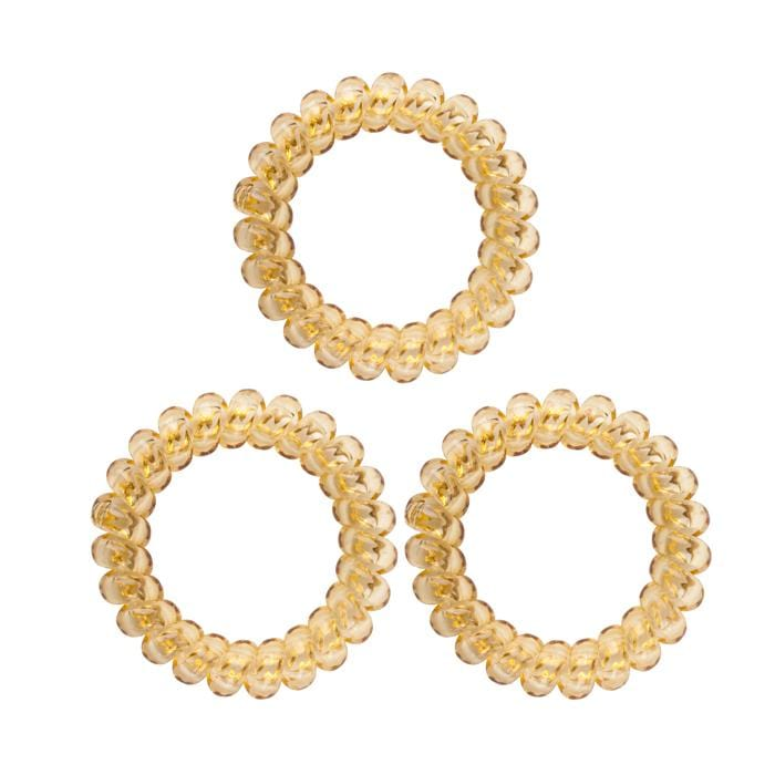HOT RIGHT NOW! KB Collection Large Traceless Hair Ties - Blonde