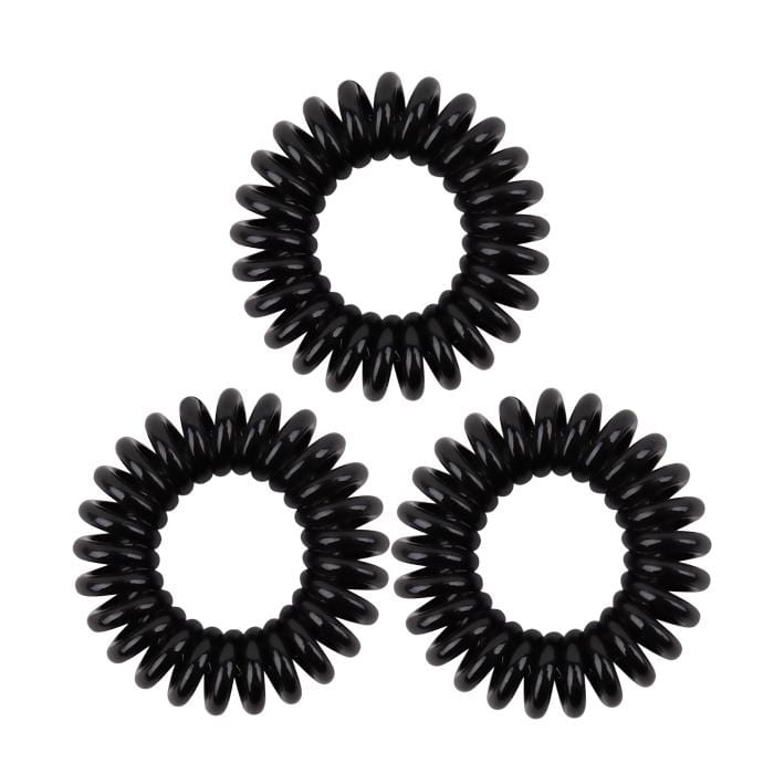 HOT RIGHT NOW! KB Collection Traceless Small Hair Ties - Black