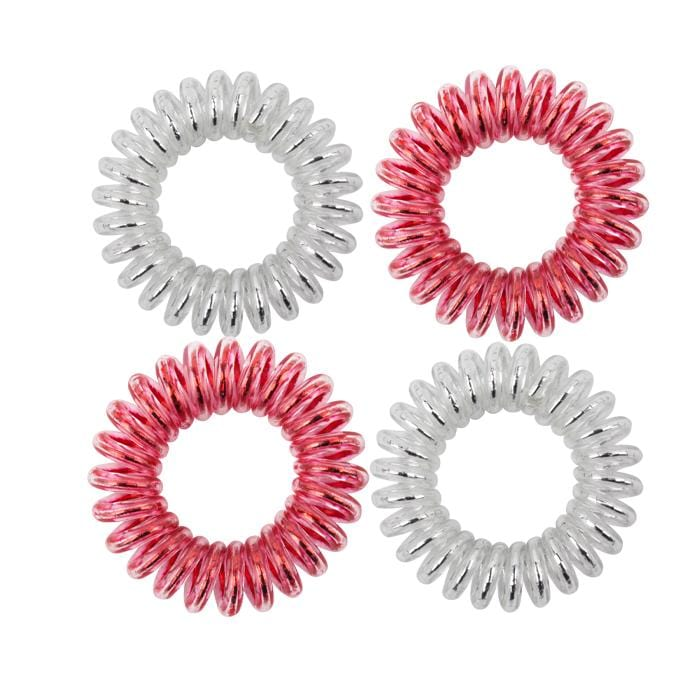 KB Collection Traceless Small Hair Ties - Canadian Pride