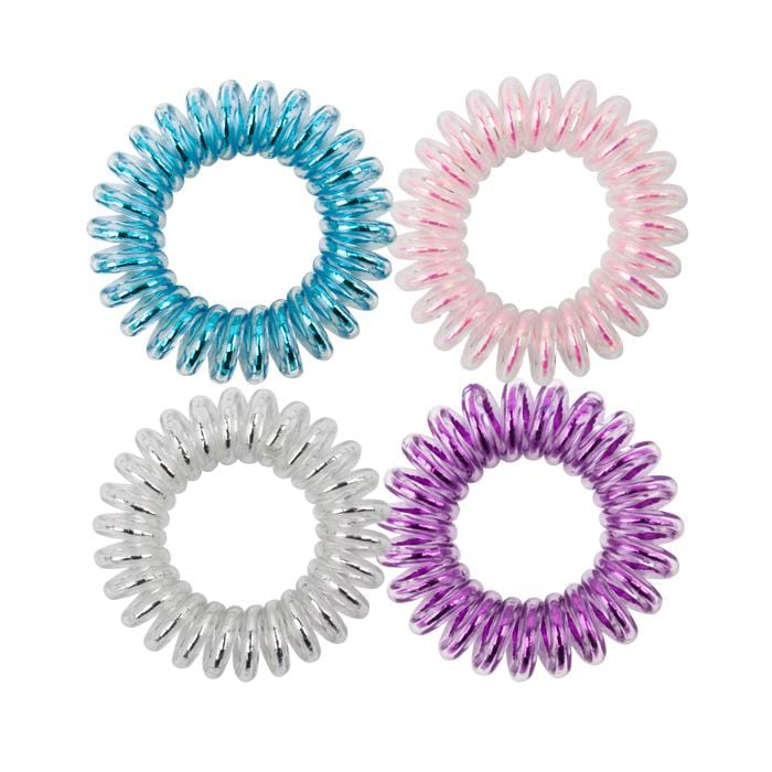 KB Collection Traceless Small Hair Ties - Cotton Candy