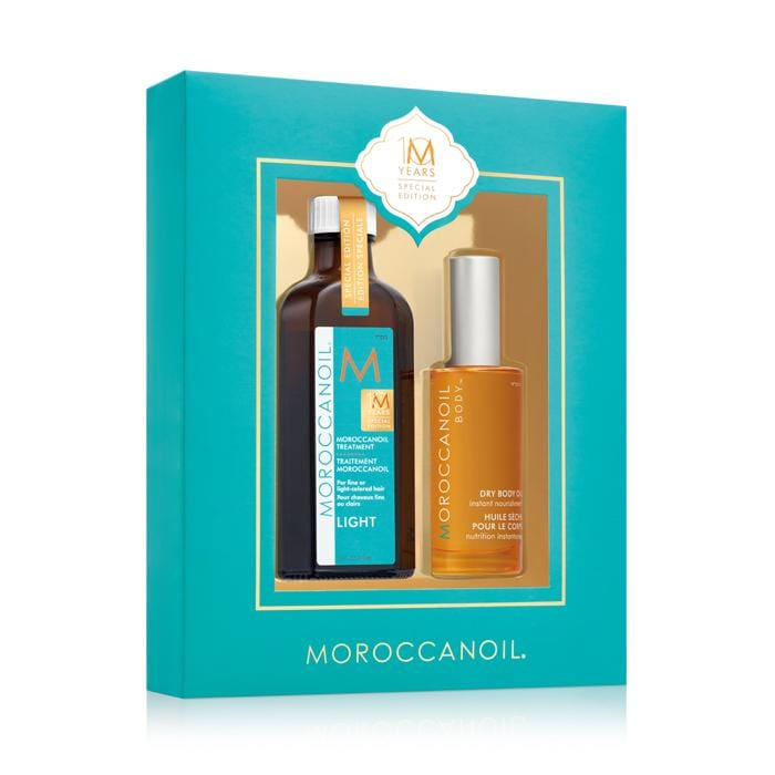 MOROCCANOIL Head To Toe 10 Years Special Edition Light Oil Kit