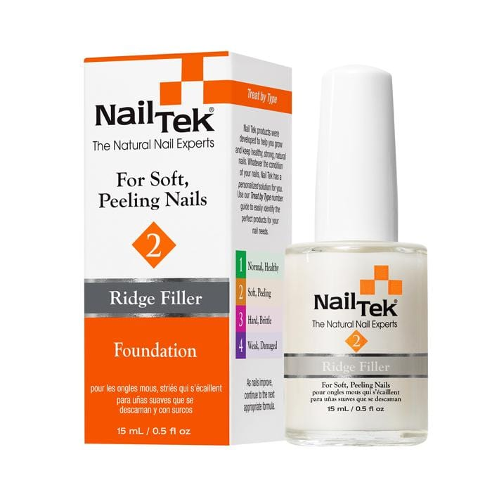 Nail Envy Vs Nail Tek: NAIL TEK 2 Ridge Filler Foundation 2