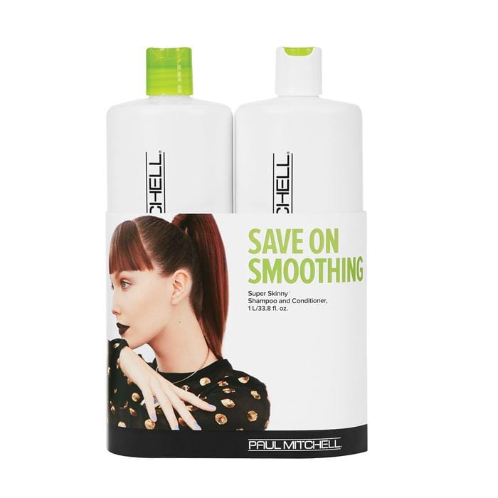 PAUL MITCHELL Smoothing Super Skinny Litre Duo