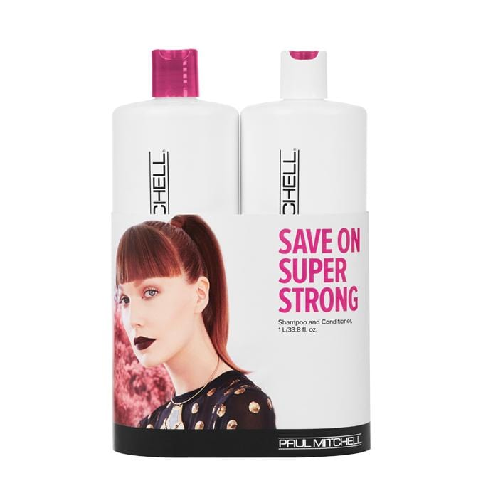 PAUL MITCHELL Super Strong Daily Litre Duo