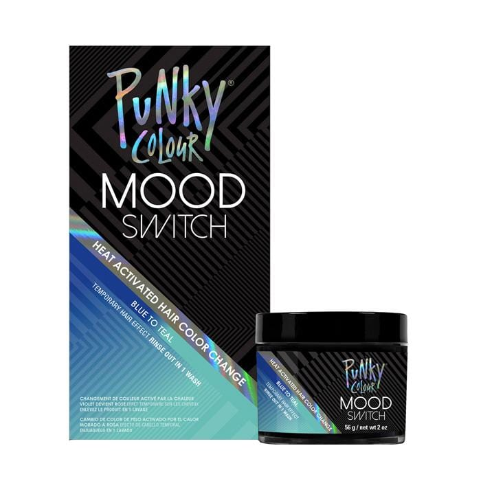 PUNKY COLOUR Mood Switch Temporary Hair Colour Blue to Teal
