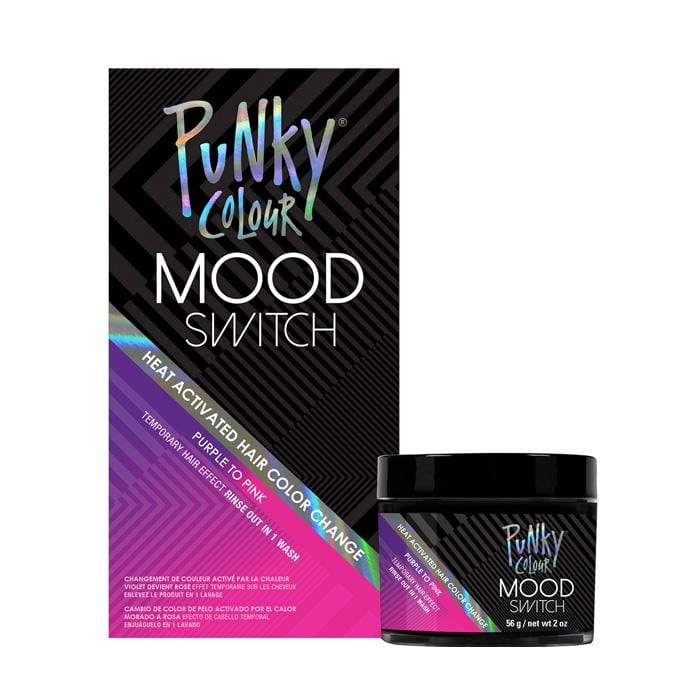 PUNKY COLOUR Mood Switch Temporary Hair Colour Purple to Pink