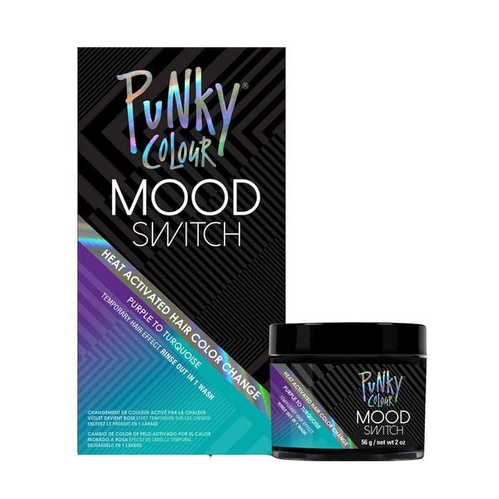 PUNKY COLOUR Mood Switch Temporary Hair Colour Purple to Turquoise