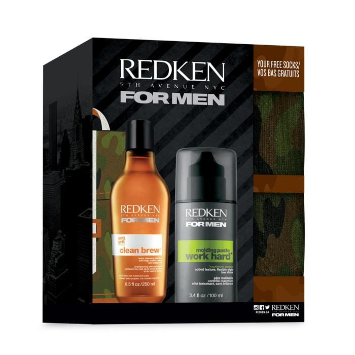 CLEARANCE REDKEN Clean Brew Holiday Duo