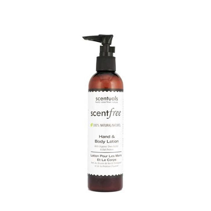 SCENTUALS Scentfree Hand & Body Lotion