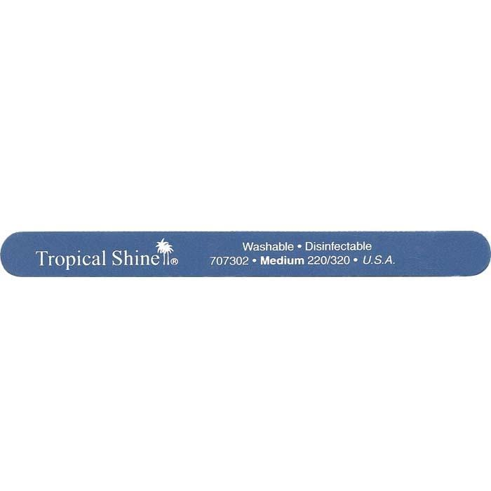 TROPICAL SHINE Blue File - Medium - 220/320 Grit