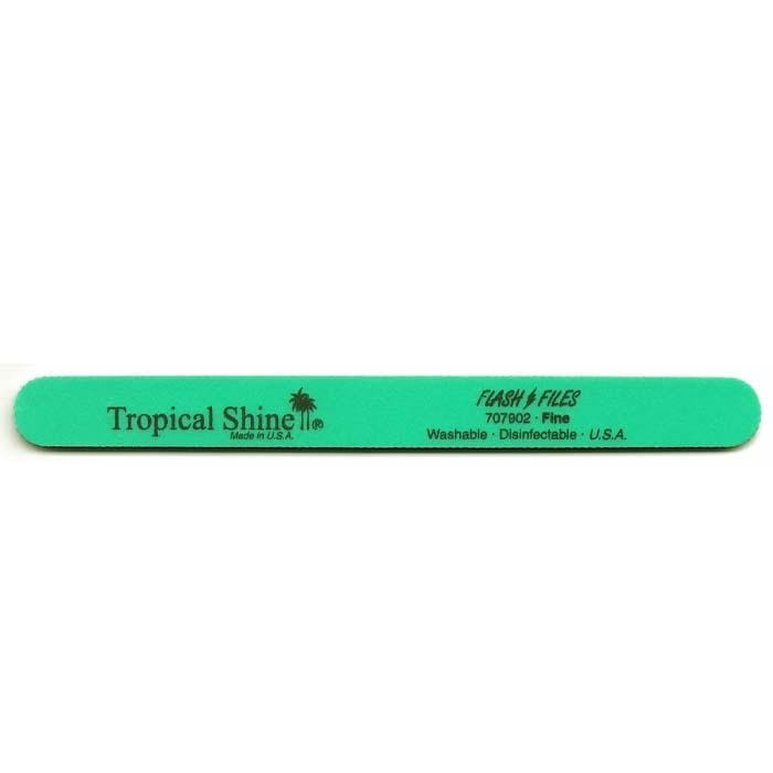 TROPICAL SHINE Green Flash File - Fine - 240 Grit