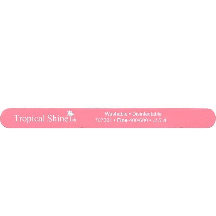 TROPICAL SHINE Pink File - Fine - 400/600 Grit