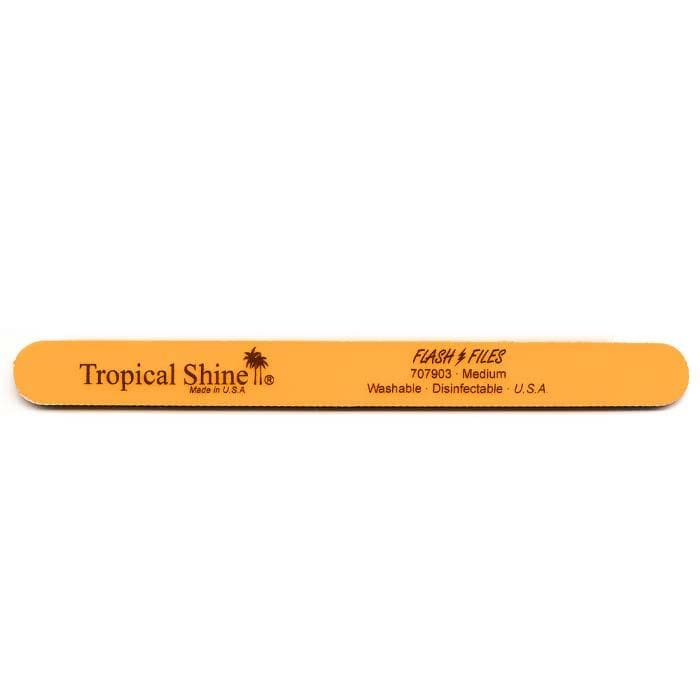 TROPICAL SHINE Orange Flash File - Medium - 180 Grit
