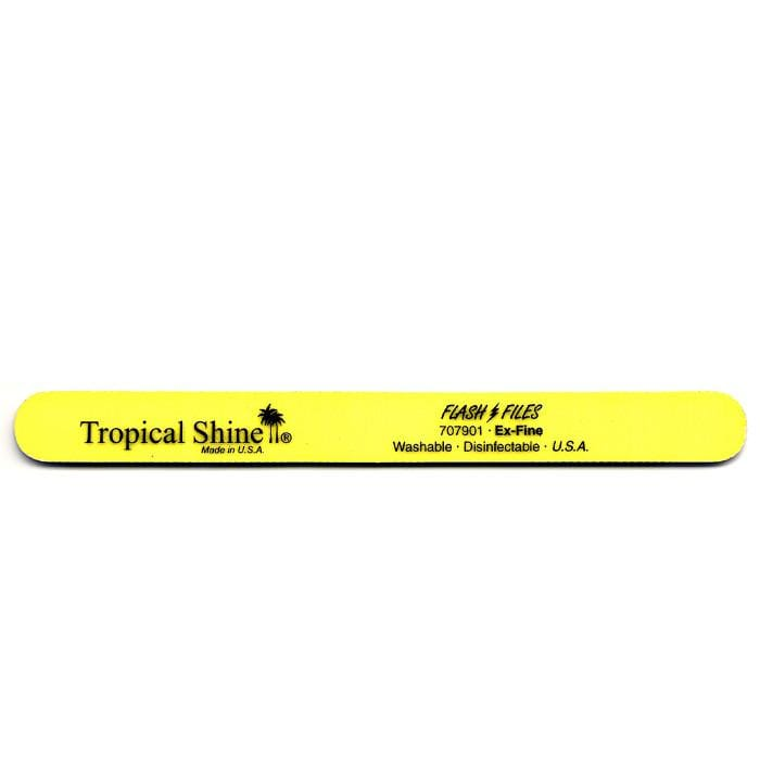 TROPICAL SHINE Yellow Flash File - Extra Fine 320 Grit