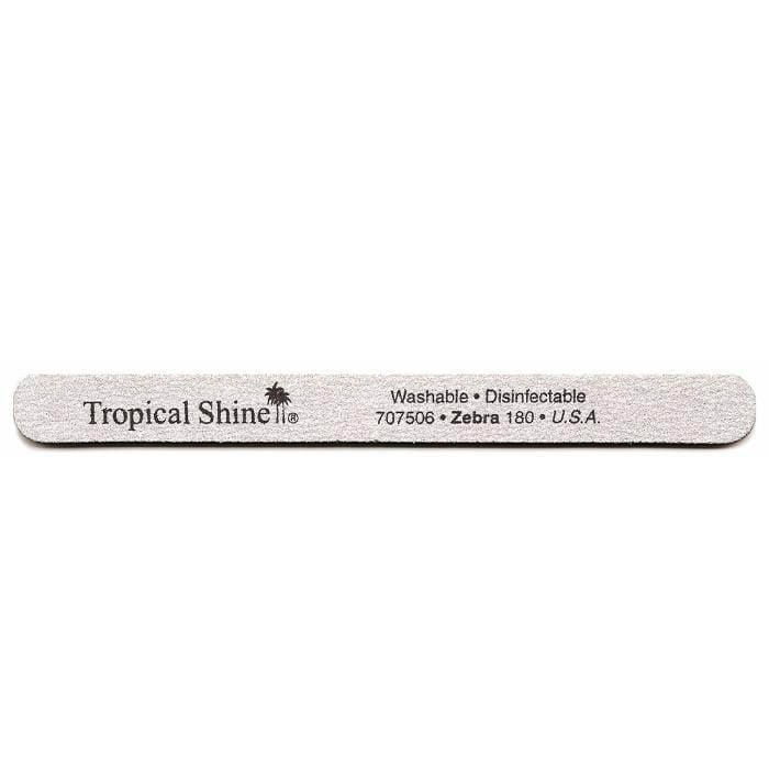 TROPICAL SHINE Zebra File - Medium - 180 Grit