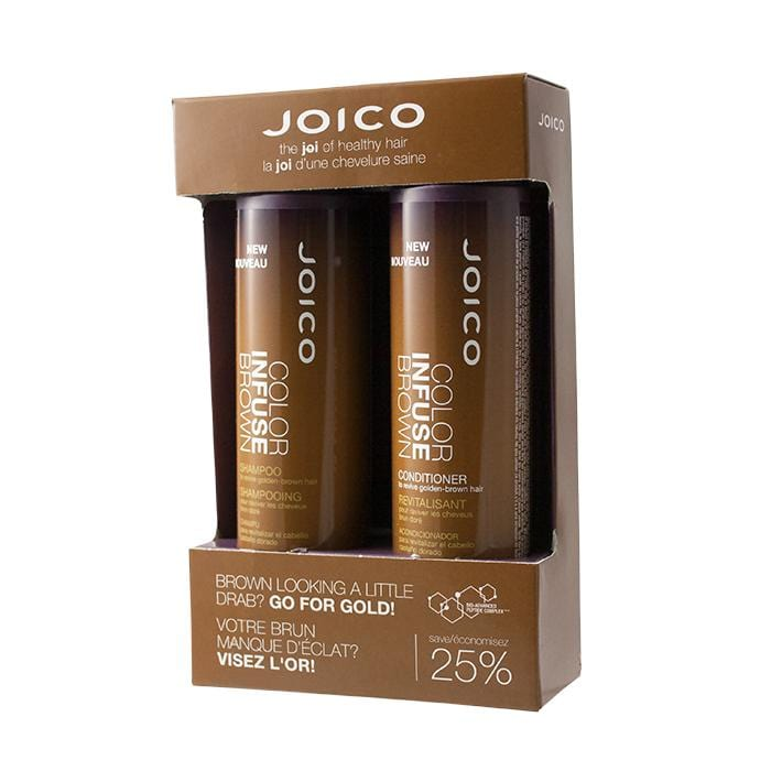 JOICO Color Infuse Brown Shampoo & Conditioner Duo