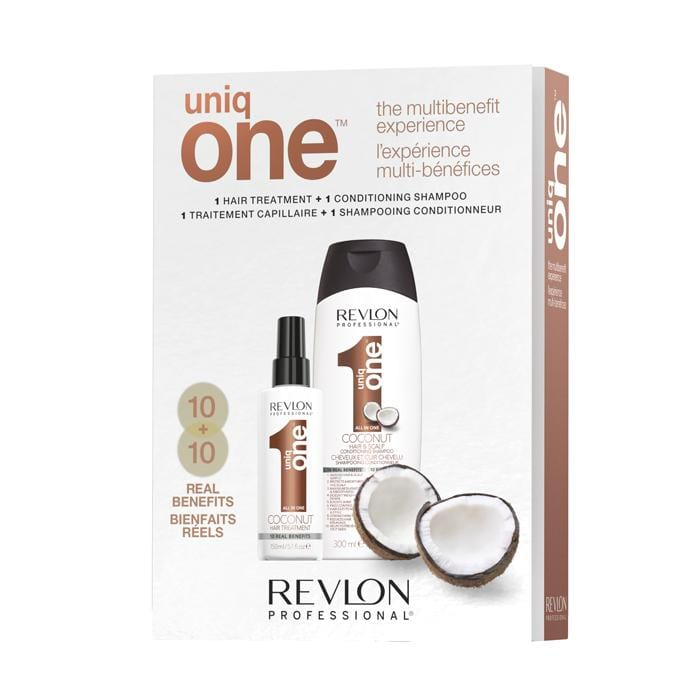 REVLON PROFESSIONAL Uniq One Holiday Coconut Duo