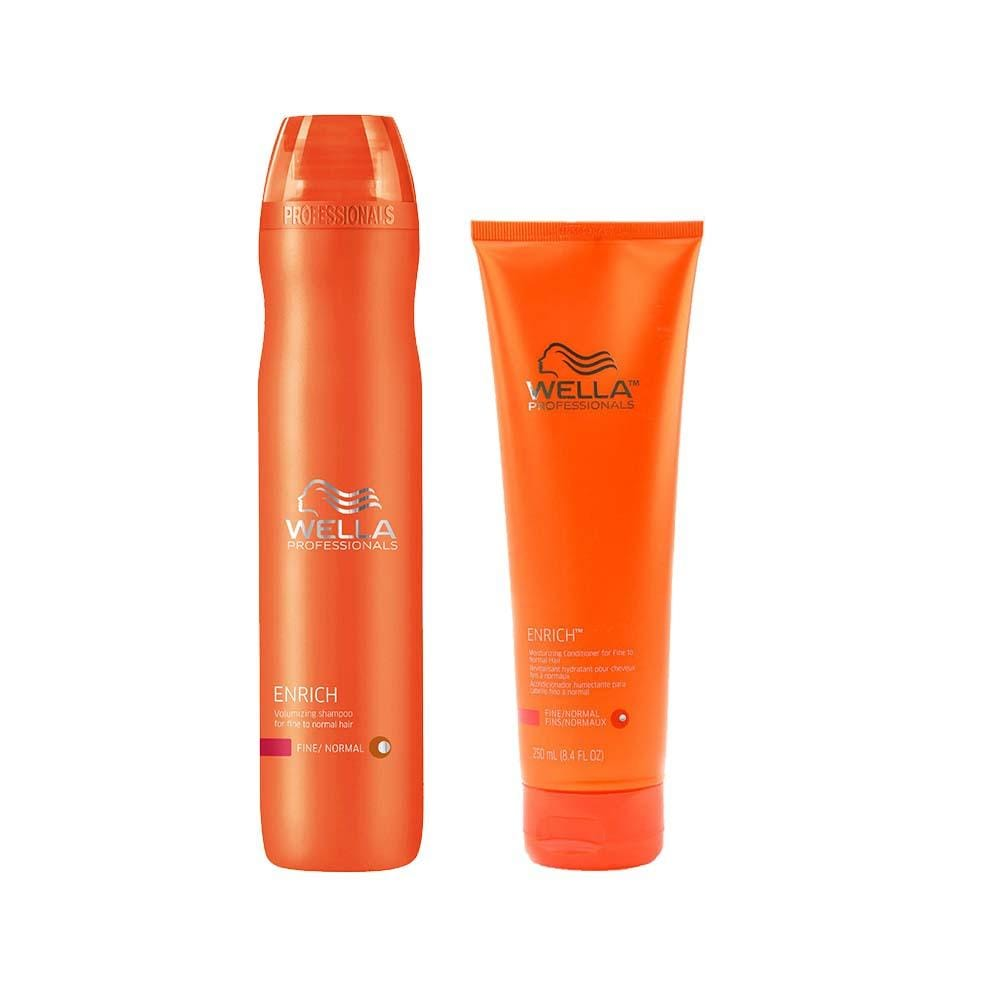 WELLA Enrich Fine Summer Care Duo