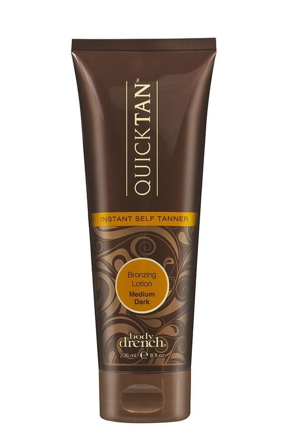 Body Drench Quick Tan Instant Self Tanner Medium/Dark Lotion 237ml