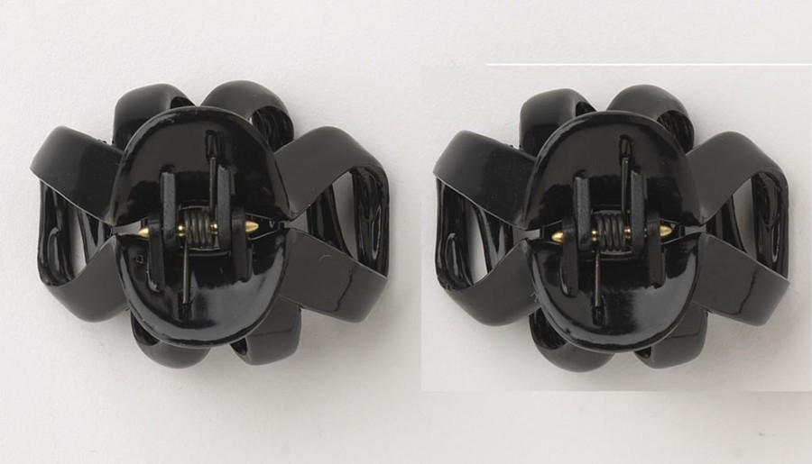DCNL Black Mini Octopus Clips K10132X2
