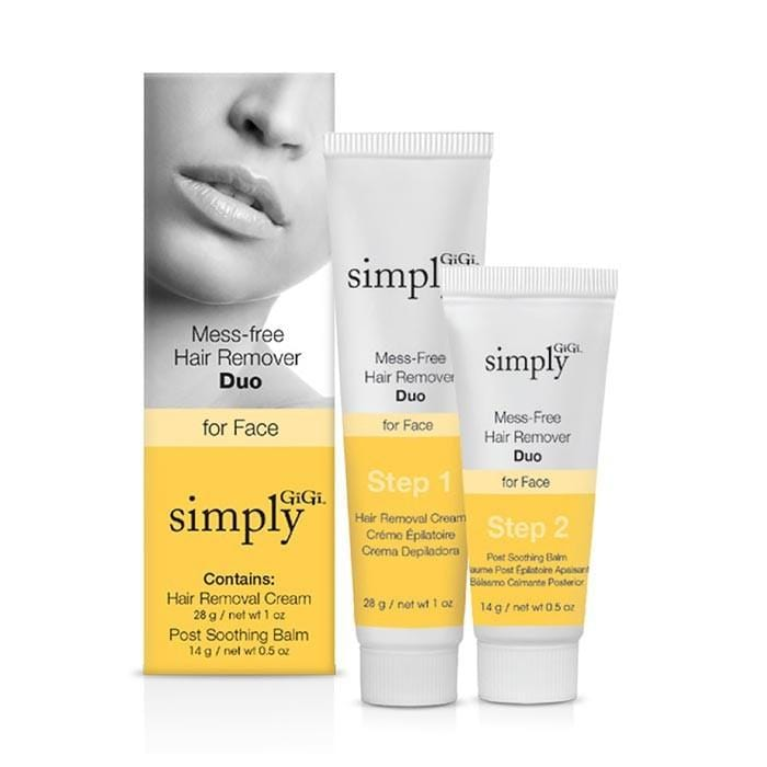 GiGi Simply Gigi  Mess Free Hair Remover Duo for Face 42g