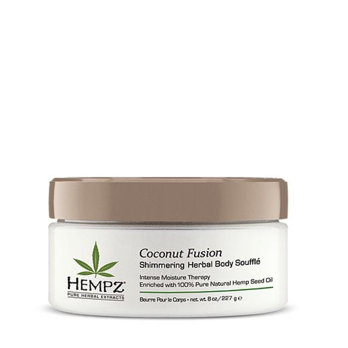 HEMPZ Coconut Fusion Shimmering Herbal Body Souffle