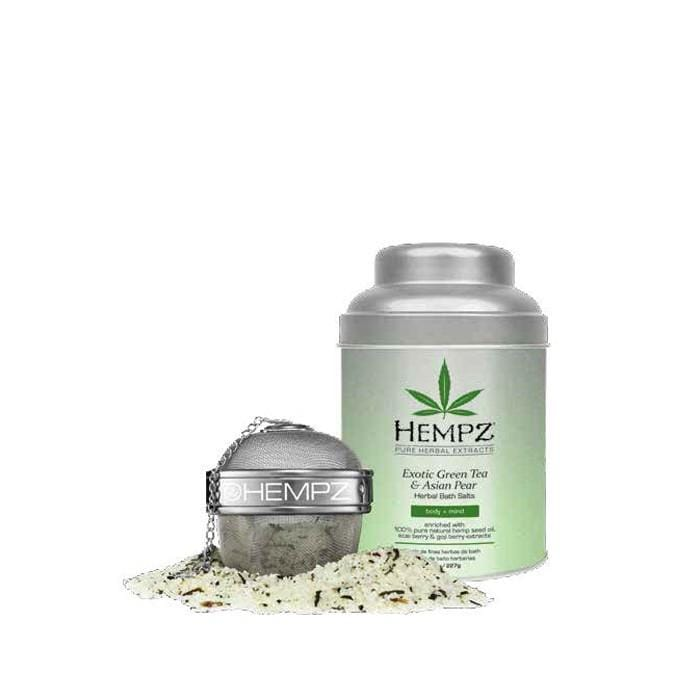 CLEARANCE HEMPZ Exotic Green Tea & Asian Pear Bath Salts