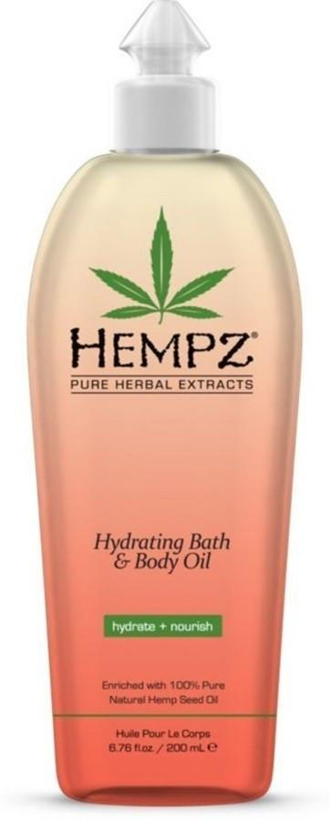 Hempz Hydrating Bath & Body Oil 200ml