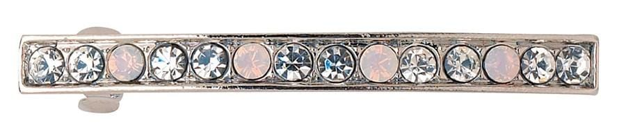 DCNL Single Line Crystal Barrette K10327X1
