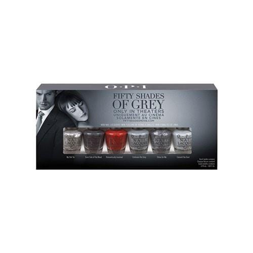 OPI 50 Shades of Grey 6 Pack Mini LIMITED EDITION