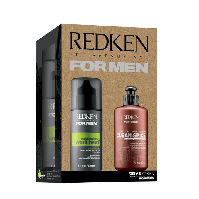 CLEARANCE REDKEN For Men Clean Spice Duo