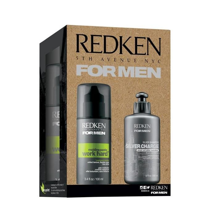 CLEARANCE REDKEN For Men Silver Charge Duo