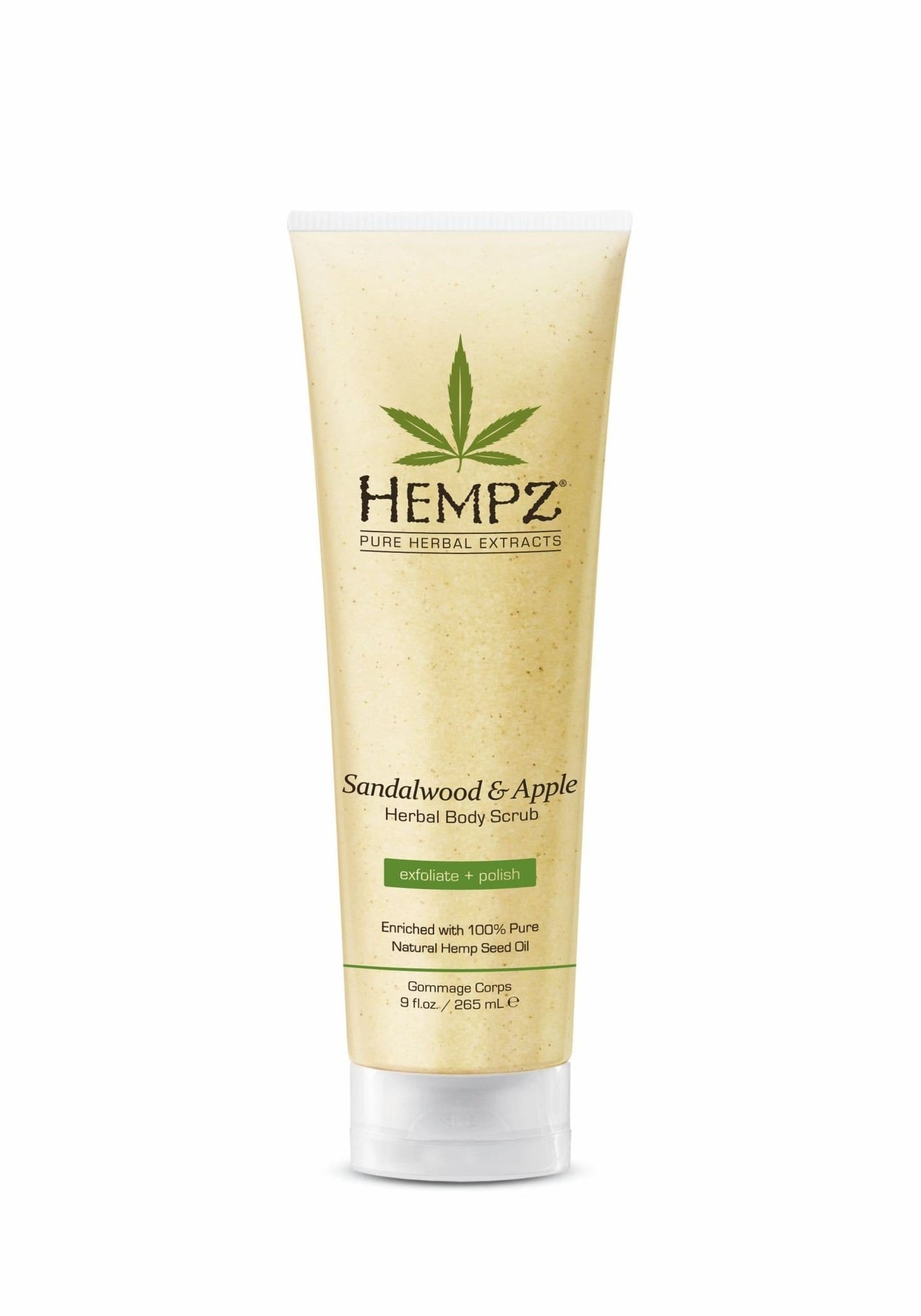 Hempz Body Scrub - Sandalwood & Apple 265ml