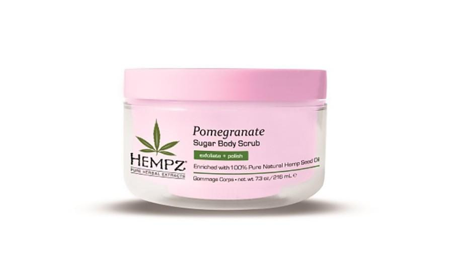 Hempz Pomegranate Sugar Scrub 216ml