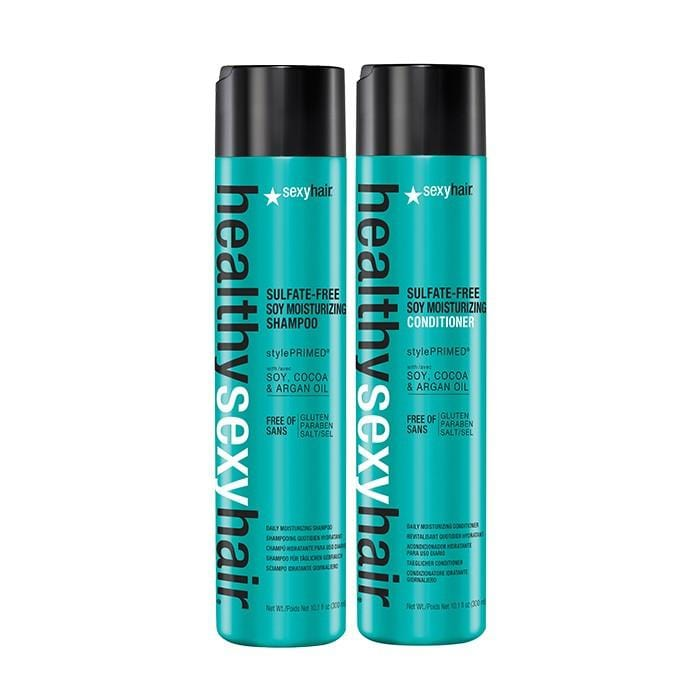 CLEARANCE SEXY HAIR Sulfate Free Soy Moisturizing Shampoo & Conditioner Duo