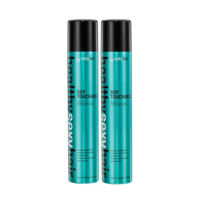 CLEARANCE SEXY HAIR Soy Touchable Hairspray Duo