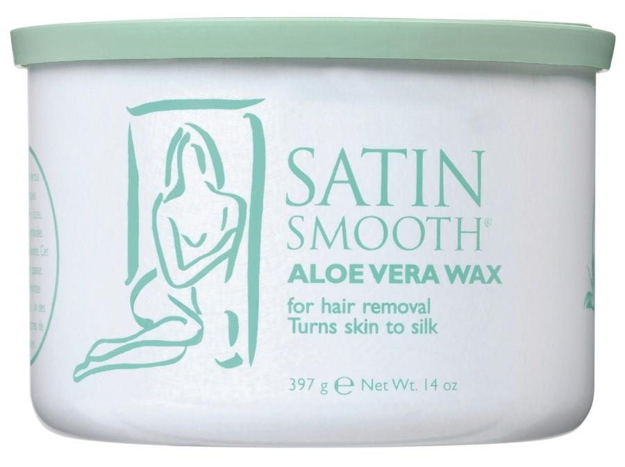 SATIN SMOOTH Aloe Vera Wax   397g