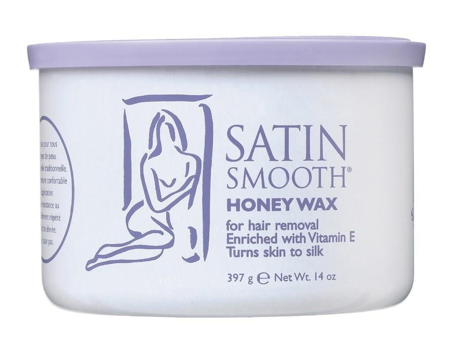 SATIN SMOOTH Honey Wax with Vitamin E 397g